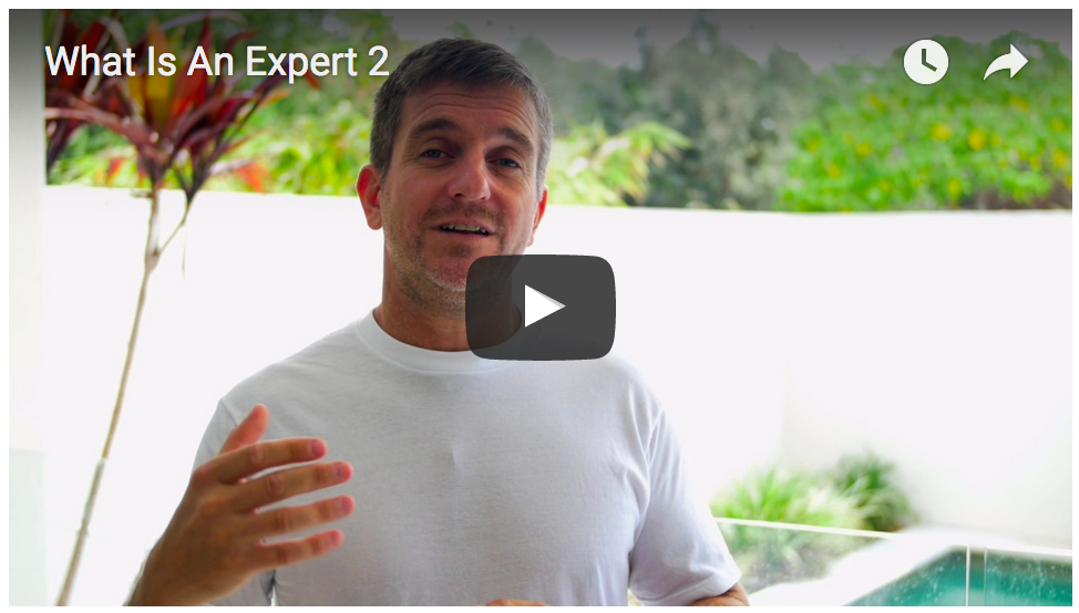 What Can 'Expert' Mean To You