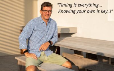 Timing is everything… but knowing your own is key!